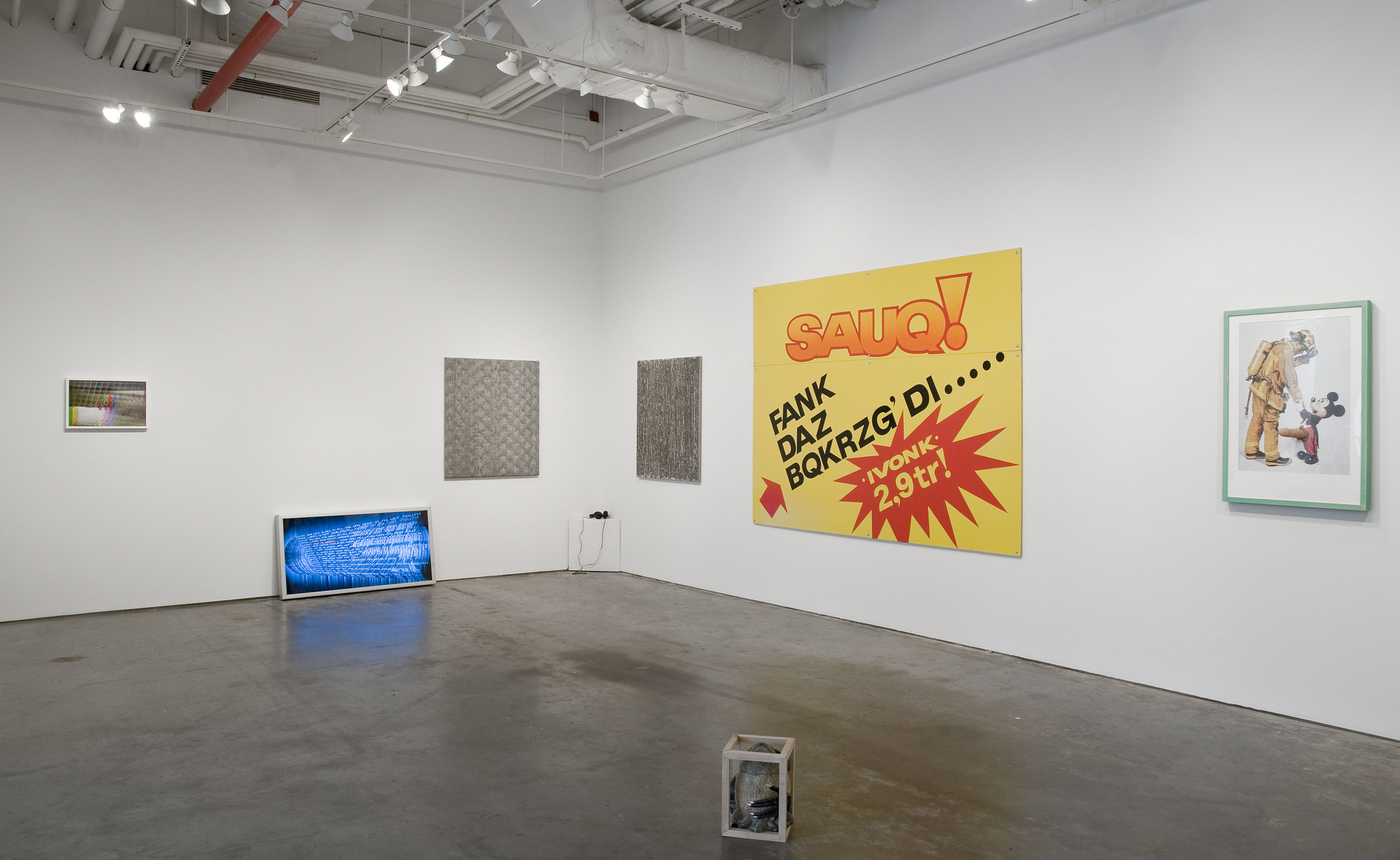 DATA TRASH | May 24 - July 20, 2012 | I-20 Gallery | Installation view