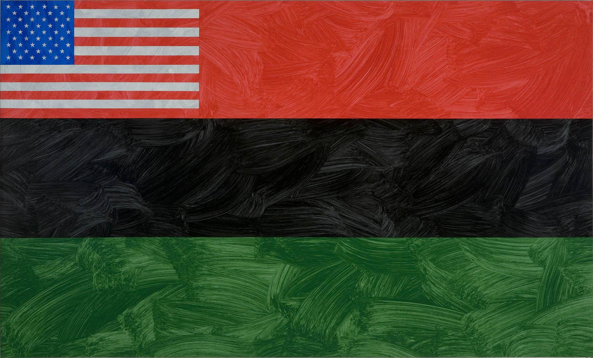 Louis Cameron | African-American Flag, 2009