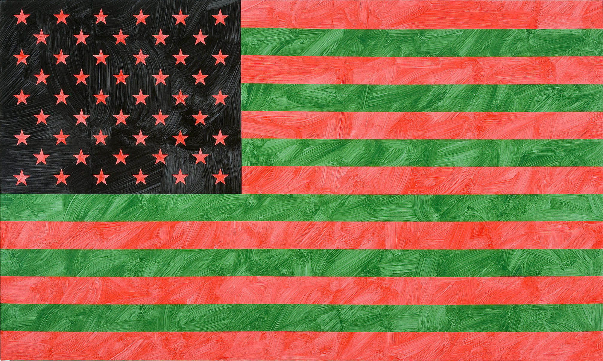 Louis Cameron | All American Flag, Mainlander (after Carl Sharif, Us For Once, Inc.), 2009