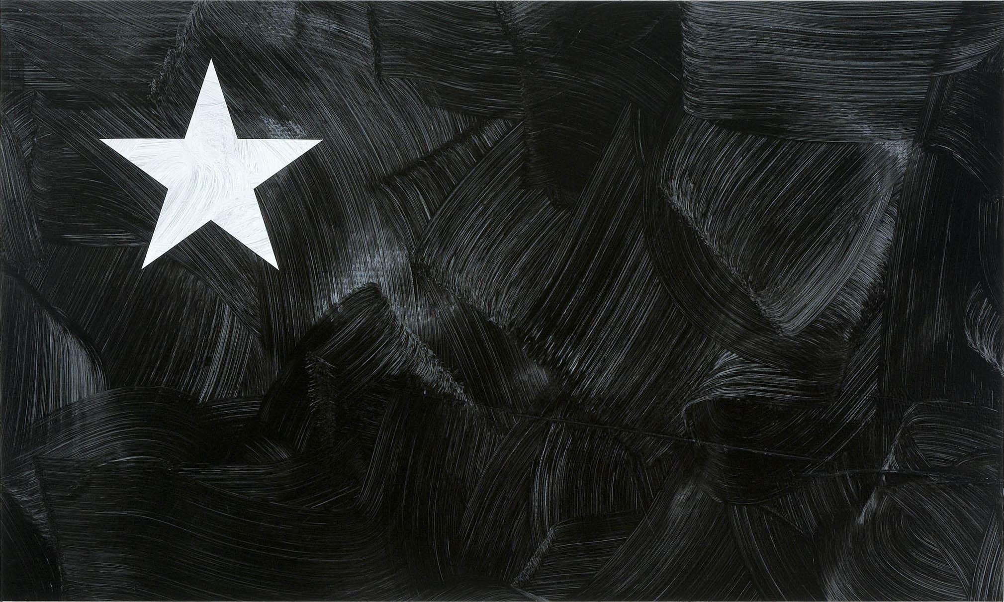 Louis Cameron   Black American Flag (after www.blackamericanflag.com), 2009  