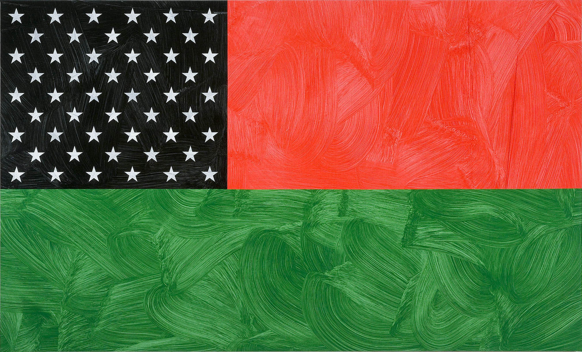 Louis Cameron | The African American National Heritage Flag (after James Wesley Chester, The Institute for African American National Heritage), 2009